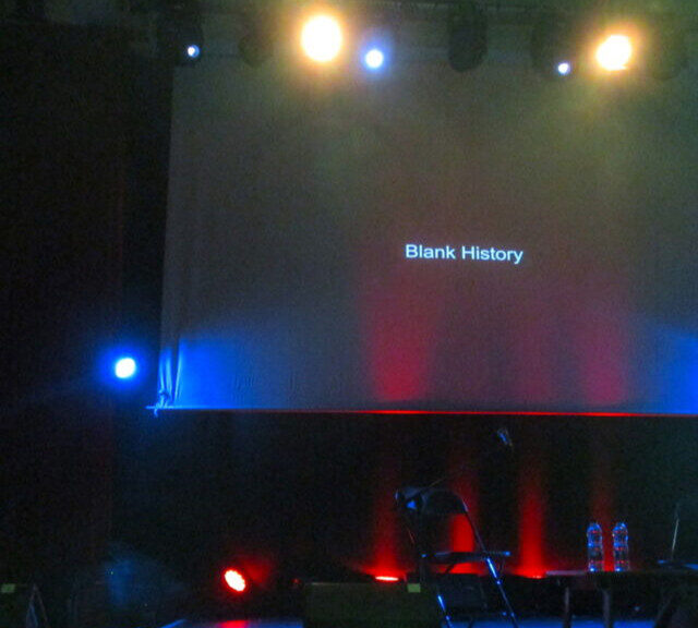 blank history by denis buckley